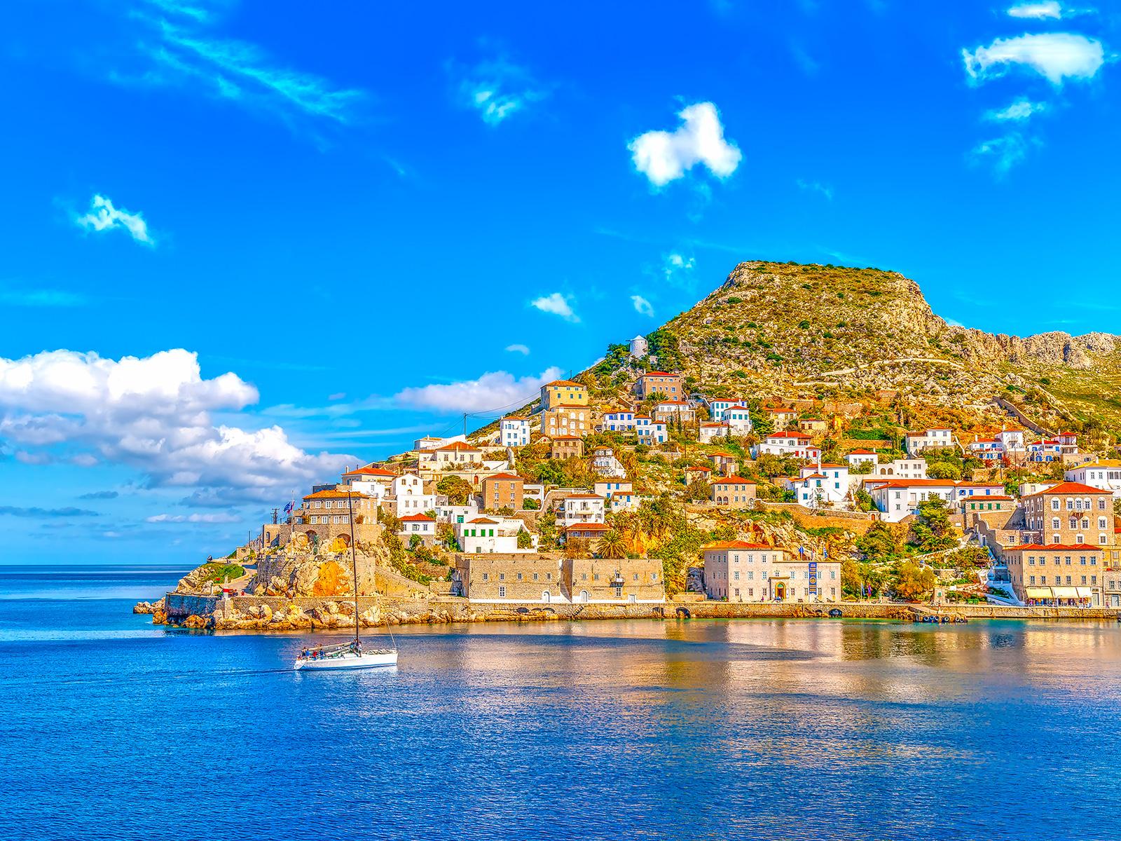 Doğal özellikler, iklim. Yunanistan yılın herhangi bir saatinde turist bekliyor